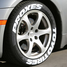 """TOYO TIRES PROXES - White Tire Lettering - 1.25"""" For 19"""" 21"""" Wheels - Permanent"""