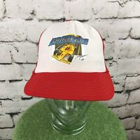 Snap On A Day At The Races Vintage Snap Back Trucker Hat Cap Pennzoil