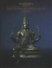 SOTHEBY'S INDIA GANDHARA MUGHAL PAINTINGS KHMER JAVA BURMA BUDDHA Catalog 1991