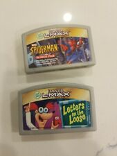 Leapster L-Max Leapfrog 2 Games spiderman, Letters On The Loose (g