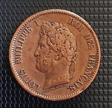 LOUIS PHILIPPE 5 CENTIMES 1844 (COLONIE FRANCAISE) SUPERBE