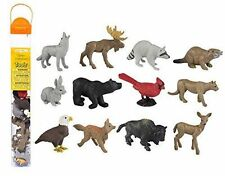 Nature Toob ~ Safari Ltd #685804 ~ plastic toy animals, wolf, deer, bear, fox