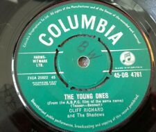 """CLIFF RICHARD - THE YOUNG ONES - 7"""" SINGLE COLUMBIA DB 4761"""