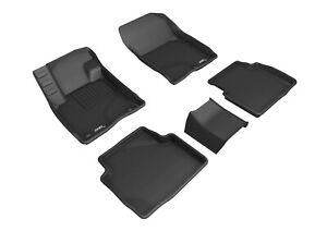 3D MAXpider Floor Liners Kagu Black For 20-22 Ford Escape