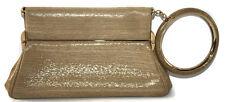 DIOR babe bracelet retro clutch bag metallic gold mirror handbag evening