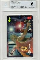 Shaquille O'Neal 1995 Classic $25 PHONE CARDS - LAKERS HOF Shaq BGS 9 MINT