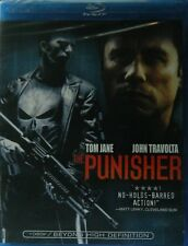 The Punisher 2004 Blu Ray John Travolta Thomas Jane Marvel