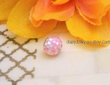 Authentic Pandora ESSENCE COMPASSION Pink Mosaic Charm 796078MMP RETIRED