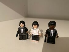 Lego Custom Pulp Fiction Lot Of 3 Minifigures Brand New Original Lego Parts