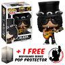 FUNKO POP GUNS N ROSES SLASH VINYL FIGURE + FREE POP PROTECTOR