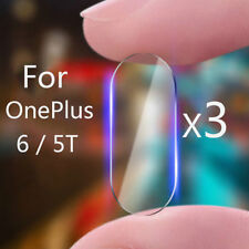 3pcs for OnePlus 6 Back Camera Lens 2.5d Tempered Glass Screen Protector Film