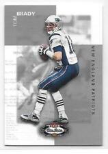 2002 Fleer Box Score #22 TOM BRADY MINI SP New England Patriots
