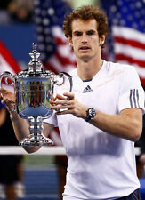 Andy Murray ‏ 10x 8 UNSIGNED photo - P316 - Grand Slam Tennis Champion