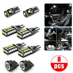 8x For RAM 1500 2500 3500 2007-19 LED Reverse License Clearance Brake Lights