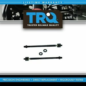 TRQ Steering Inner Tie End Front LH RH Pair for 09-13 Toyota Matrix Corolla New
