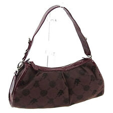 Folli Follie Shoulder bag Logo Brown Red Woman Authentic Used A878