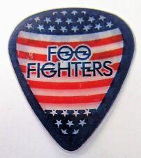 scarce Foo Fighters Chris Shiflett American Flag with border guitar pick