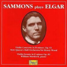 ♫ Sammons plays ELGAR * Murdoch * Sir Henry Wood * PEARL/UK - very rare !