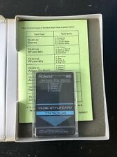 Roland Music Style Card TN-SC1-04 für Keyboard E-5/E-20/E-30 Around The World