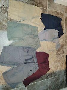 Lot of 7 Boy's Sz Medium 8 Shorts Gap Jumping Beans Gymboree