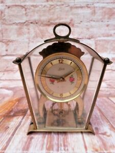 VINTAGE SCHATZ & SOHNE GERMAN 8 DAY MECHANICAL MANTEL CLOCK.RESTORATION PROJECT