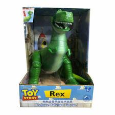 Disney Pixar Toy Story Deluxe Talking Rex Dinosaur Figurines Gift Doll Kids Toy