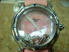Genuine Ladies Chopard Happy Sport Pink with 2 Floating Fish