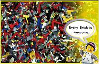 Genuine LEGO Bundle 1kg-1000g Starter Set Mixed Pieces Bricks Parts Bulk JobLot