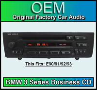 BMW 3 Series Business CD player radio, BMW E90 E91 E92 E93 car stereo headunit