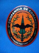 PORTUGAL MILITARY COMANDOS COMMANDOS UNIT BADGE 1 COMP. MORCEGOS RARE VERSION