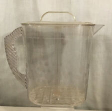New listing Pampered Chef Family Size Quick-Stir 1 Gallon #2276 Dot Pattern On Pitcher Used
