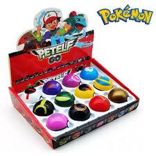 12PCS Pokèmon Ball Set Pokeball GO Actionfiguren Kinder Geschenk Spielzeug Neu