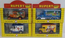 Rupert L'Orso: Set di 4 DIE CAST modelli realizzati da Lledo (DT)