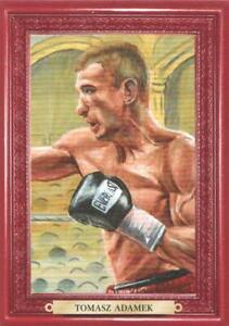 2011 Ringside Boxing Round Two Turkey Red Parallel #108 Tomasz Adamek