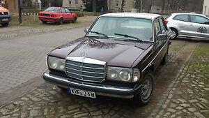 W123  240D Mercedes  H Zulassung, Viele neuteile, US Modell mit Ausstattung