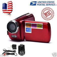 Full HD 1080P 12MP Digital Video Camcorder Camera DV DVR 1.8'' TFT LCD 4x ZOOM