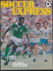 Soccer Express April 1978 featuring Pele *M39