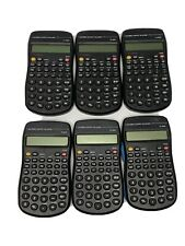 Electronic Scientific 10 Digit Small Pocket Calculator Bundle (Pack of 6)
