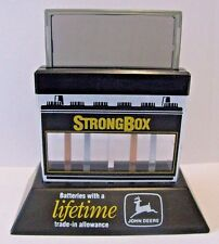 John Deere StrongBox Battery Clock 1992 Collectible Runs on Water Salt Solution