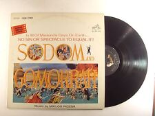 sodom and gomorrah lp miklos rozsa lso-1076 vg+/m-
