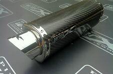 Suzuki Gsxr 600 750 L1 L2 L3 2011 2012 Gp Carbono Tri Oval de escape puede, Rd legal