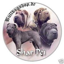 Design Aufkleber Shar Pei Sharpei 15cm Chinesischer Faltenhund Autoaufkleber