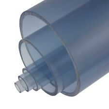 "4"" x 24"" CLEAR PVC UV RESISTANT THINWALL PIPE (E1385-040-24-A)"