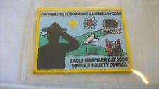 SUFFOLK COUNTY COUNCIL 2000 EAGLE DAY POCKET PATCH