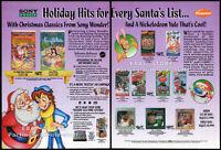 NICKELODEON / SONY__Original 1994 Trade print AD promo__REN & STIMPY SHOW_LASSIE