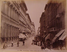 ROME. ROMA. ITALIE. 23 PHOTOGRAPHIES ATTRIBUABLES A MOSCIONI ROMUALDO. VERS 1900