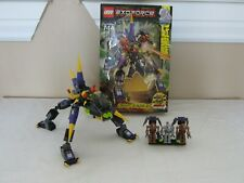 LEGO ExoForce Dark Panther (8115) Complete Used with Box