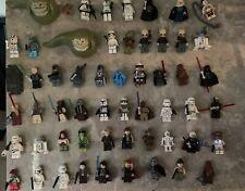 Huge Lego Star Wars Minifigure Lot: Rare Mini Figures + You Pick