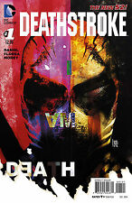 NEW DC 52 DEATHSTROKE #1 Sorrentino 1:25 VARIANT COVER! arrow! teen titans