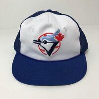 Vintage Toronto Blue Jays 80s 90s Snapback Trucker Hat Mint MLB